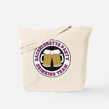 Bachelorette Drinking Team Tote Bag