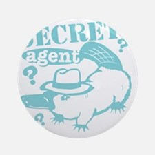 secretagent2 Round Ornament