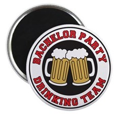 Bachelor Party Shot Glass Magnet