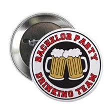 "Bachelor Party Shot Glass 2.25"" Button"