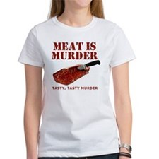 Meat is Murder Tasty Tasty Murder Tee