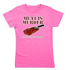 Meat is Murder Tasty Tasty Murder Girl's Tee