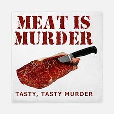 Meat is Murder Tasty Tasty Murder Queen Duvet