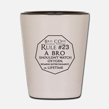 Bro Code Rule 23 Shot Glass