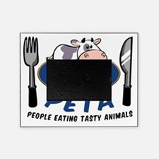 People Eating Tasty Animals Picture Frame