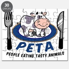 People Eating Tasty Animals Puzzle