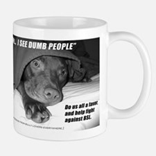 American Pit Bull Terrier Small Mugs