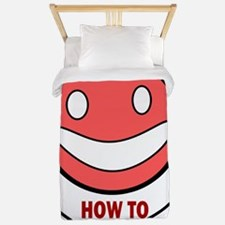 HOW TO BE HAPPY Twin Duvet
