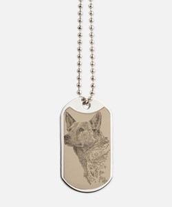 Australian_Cattle_Dog_KlineX Dog Tags