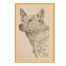 Australian_Cattle_Dog_Kli Postcards (Package of 8)