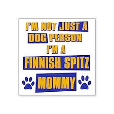 "finnishspitz Square Sticker 3"" x 3"""