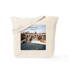 Spokane Falls Monroe St. Brid Tote Bag
