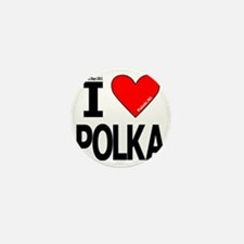 I Heart Polka Design_Revised 5 Mini Button