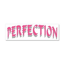 PERFECTION PINK Car Magnet 10 x 3