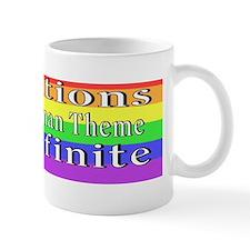 Variations rainbow-2 cf 75  bumper Mug