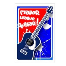 Major League Guitar Postcards (Package of 8)