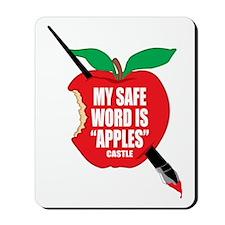 Castle-Apples Mousepad