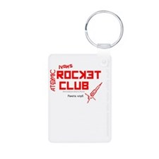Ivans Atomic Rocket Club W Keychains