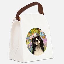 J-ORN-Garden-Ccoker5-BW-Tri Canvas Lunch Bag