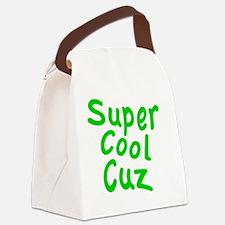 Super Cool Cuz Canvas Lunch Bag