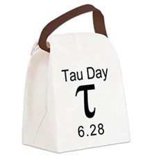 Tau-Shirt-Pocket-2 Canvas Lunch Bag