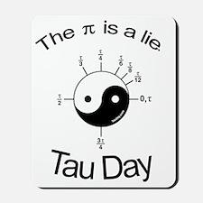 Tau-Shirt-Back Mousepad