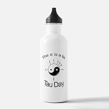 Tau-Shirt-Back Water Bottle