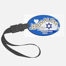 Jerusalem Luggage Tag