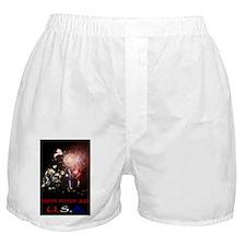 HAPPY4TH Boxer Shorts
