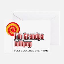 GrandpaLollyPop Greeting Card