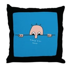 Kilroy 4 Throw Pillow