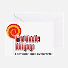 UncleLollyPop Greeting Card