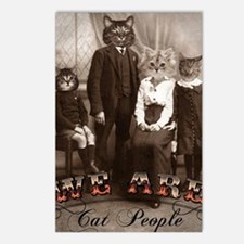 CAT_PEOPLE Postcards (Package of 8)