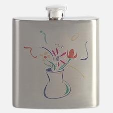 Flowers Flask