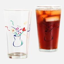 Flowers Drinking Glass