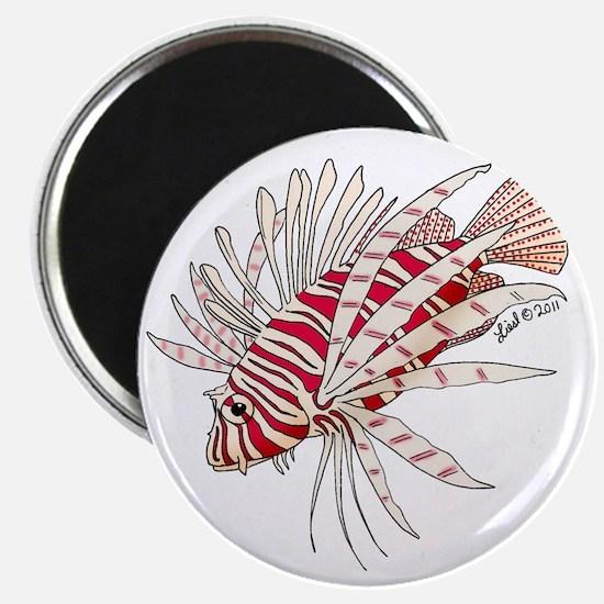 lionfish solo Magnet