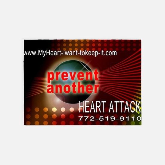 $_Heart_Disease_Space2 5'x7'Area Rug