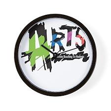 arts logo Wall Clock
