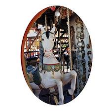 Carousel Imp Oval Ornament