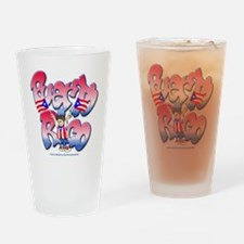 PuertoRicoGraffiti FINAL-teeshirtDe Drinking Glass