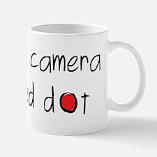 my other camera black Mug