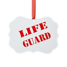 lifeguard Ornament