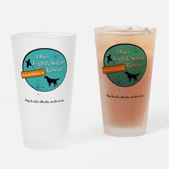 OESR50sLogoFinal Drinking Glass