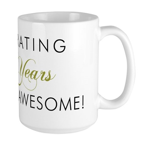 Celebrating 80 Years Large Mug