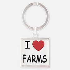 FARMS Square Keychain