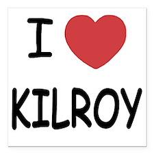 """KILROY Square Car Magnet 3"""" x 3"""""""
