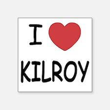 "KILROY Square Sticker 3"" x 3"""