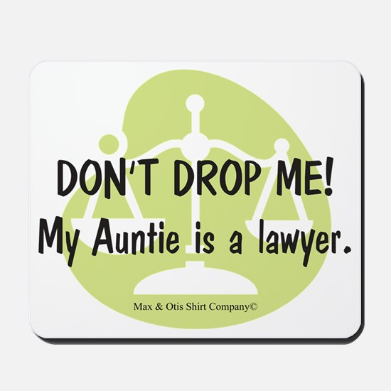 lawyer-auntie Mousepad