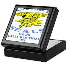 blk_SEALS_Bad_Things_Bad_People Keepsake Box