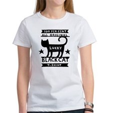 Lucky Black Cat Tee